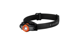 Latarka Ledlenser MH3 black/orange