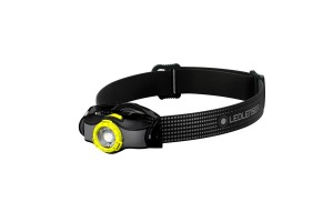 Latarka Ledlenser MH3 black/yellow