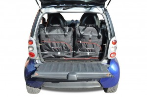 Torby do bagażnika SMART FORTWO COUPE 1998-2007 zestaw 2 szt.
